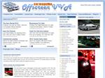 screenshot of Online Magazine About Car Models