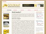 screenshot of Gold Goldbarren kaufen
